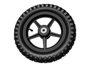 Bilde av Wheel BLACK 12.5X2.25-8 ALL
